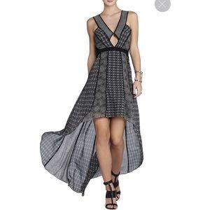 BCBGMaxAzria High Low Cutout Dress